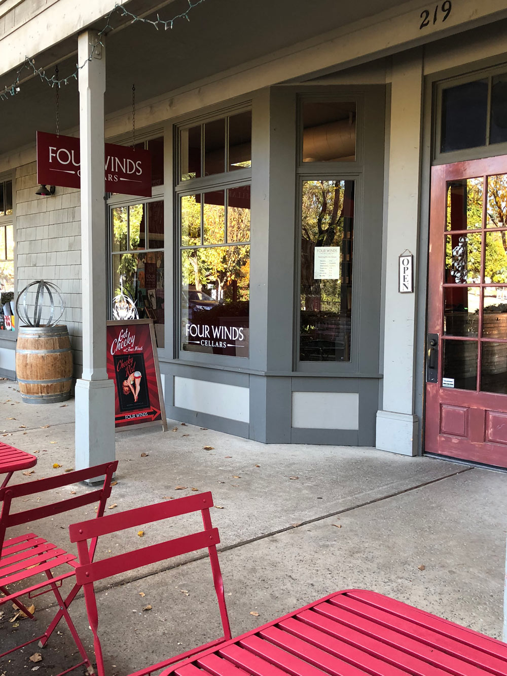 Four Winds Cellars Tasting Room