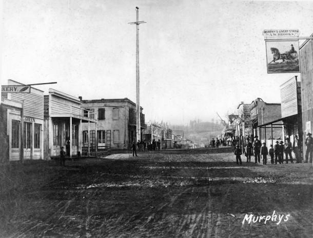 Murphys History Murphys California