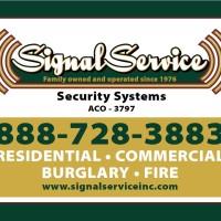 signal service yard sign