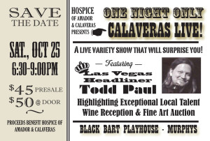 Calaveras LIVE @ Black Bart Playhouse   Murphys   California   United States