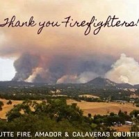 thank you firefighters butte