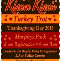 Turkey Trot 2015 Poster