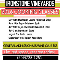 IRONSTONE COOKING 2016