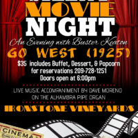 ironstone silent movie night