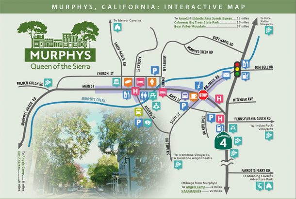 Murphys California interactive map