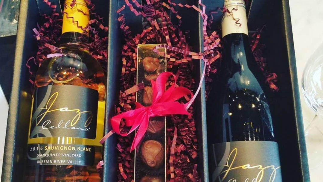 holiday shopping wine
